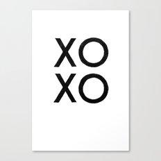 XOXO Canvas Print
