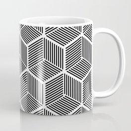 Cube Pattern Coffee Mug