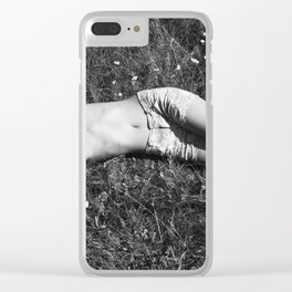 Half Term Clear iPhone Case