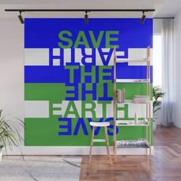 Save the Earth Wall Mural