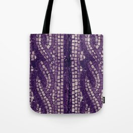 stone tile 4378 ultra violet Tote Bag