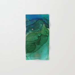 Ocean gold Hand & Bath Towel