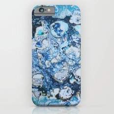 Marbled Blue Universe Slim Case iPhone 6s