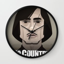 No Country for Old Men Wall Clock