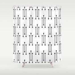 Morse v2.2 Shower Curtain