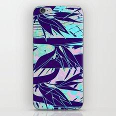 purple birds of paradise iPhone Skin
