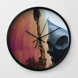 Experience Things From A New Perspective Wall Clock