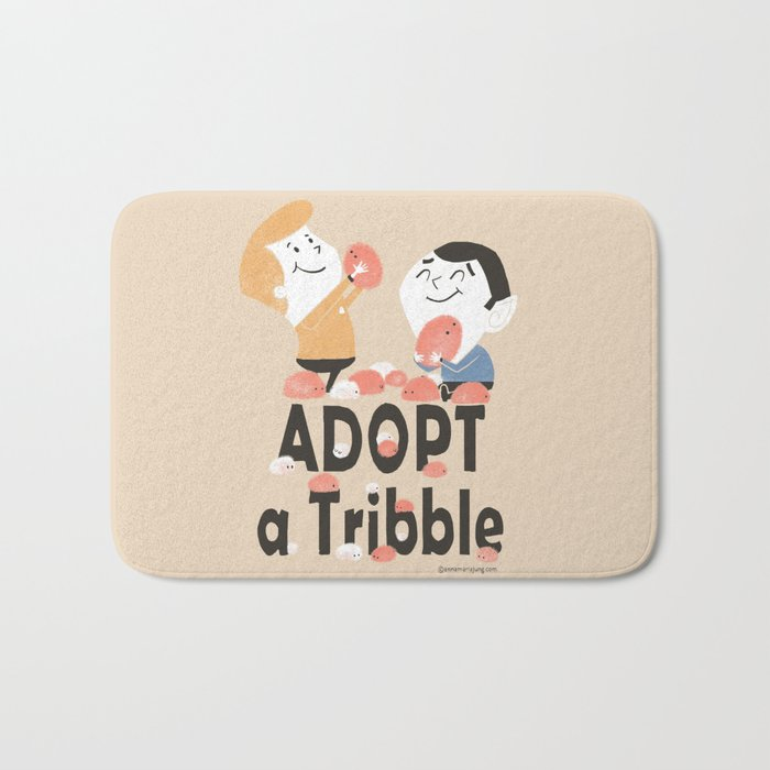 Adopt a Tribble Bath Mat