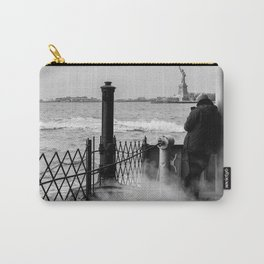 Liberty from the back of The Boat Carry-All Pouch