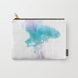 Water ink,abstract,cloud like background  Carry-All Pouch