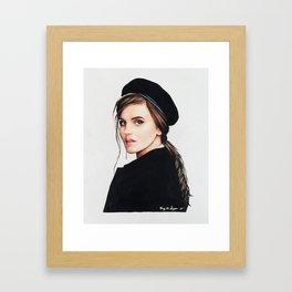 Emma Watson | Drawing Framed Art Print