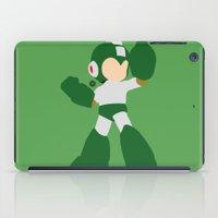 mega man iPad Cases featuring Mega Man(Smash)Green by ejgomez