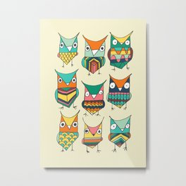Give a hoot Metal Print