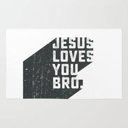 Jesus loves you bro Rug