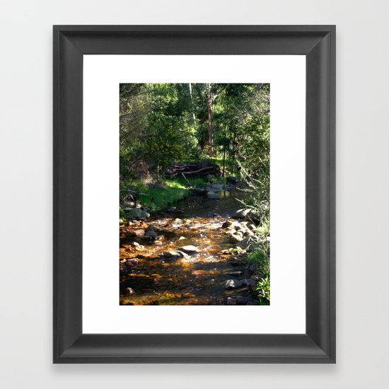 Stoney Creek Framed Art Print