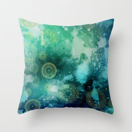 Galaxy Bliss Throw Pillow