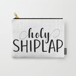 Holy Shiplap Carry-All Pouch