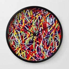Laberinto 5 Wall Clock