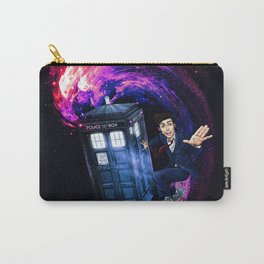 Doctor Who Space Surfing Carry-All Pouch