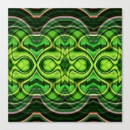 Ultrasound of Miller the Caterpillar Canvas Print