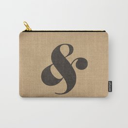 Elephant Italic Ampersand Carry-All Pouch