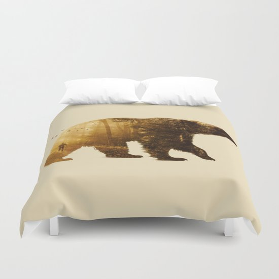 Into the Wild Duvet Cover