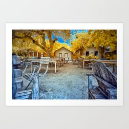 Trancoso Little Houses Art Print