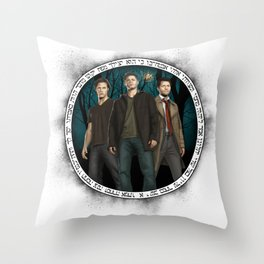 The Family Business Throw Pillow