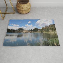 Sylvan Lake in the Black Hills Rug