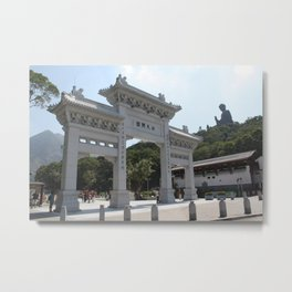 Big Buddha Metal Print