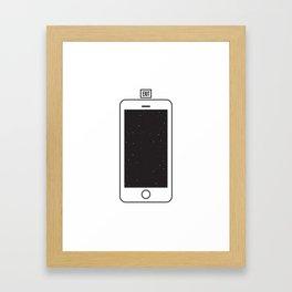NOTHING #1 - Always Somewhere Else Framed Art Print