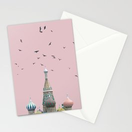 minimal moskow Stationery Cards