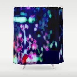 Summer night city Shower Curtain