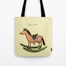 Rocking Horse Tote Bag