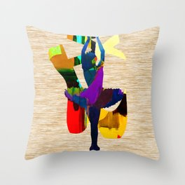 Ballet Throw Pillow