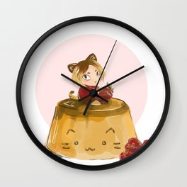 pudding Wall Clock