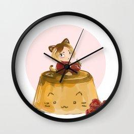 pudding Wall Clock