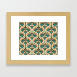 A Deco Garden Framed Art Print