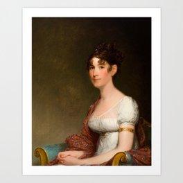 Mrs. Harrison Gray Otis (Sally Foster) ,  Gilbert Stuart, 1755 - 1828 Art Print