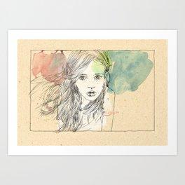 Juli Art Print