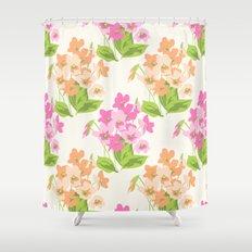 vintage 4 Shower Curtain