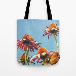 Coneflowers Reaching Skyward Tote Bag