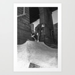 Aaron Herrington - Backside Nose Blunt Art Print