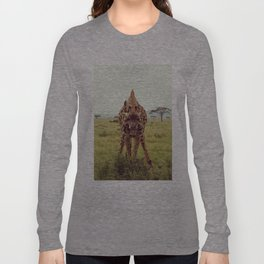 Giraffe Wants to Know Long Sleeve T-shirt