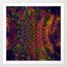 Way Out There Art Print