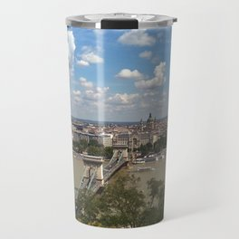Budapest /Danube River/ Summer/ sunshine Travel Mug