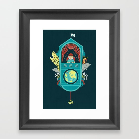 Aquatic Adventurer Framed Art Print