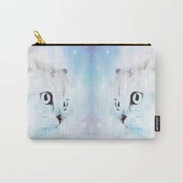 Fluffy starry cat Carry-All Pouch