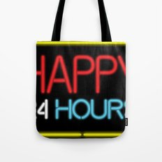 Happy 24 hours Tote Bag