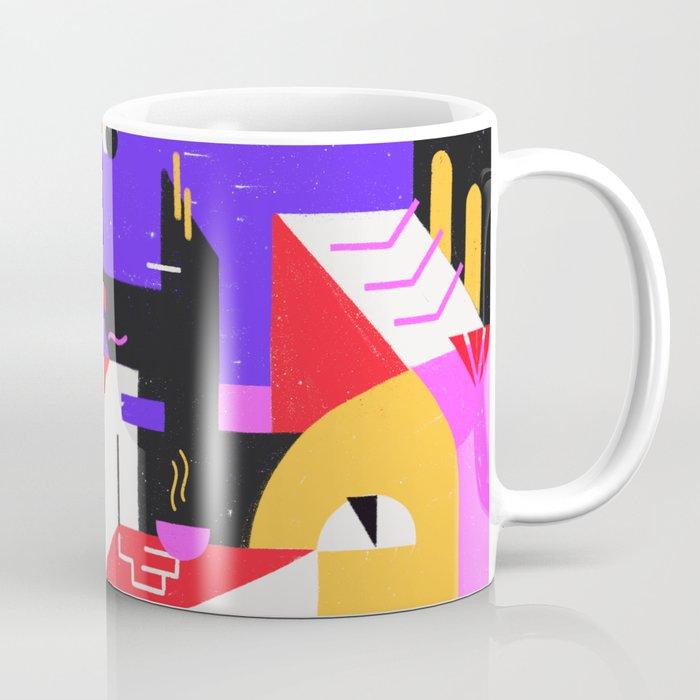 Multi-dimensional city Coffee Mug